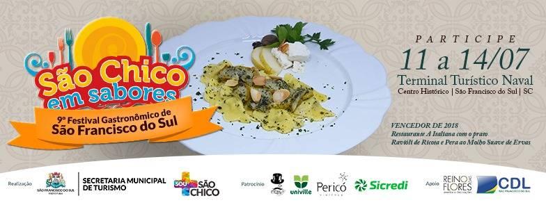 9º Festival Gastronômico São Chico em Sabores