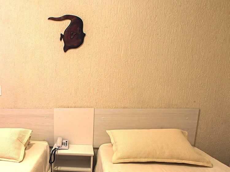 Apartamento Conjugado Casal com 2 Acompanhantes