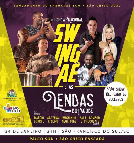 Show Nacional – Swingaê
